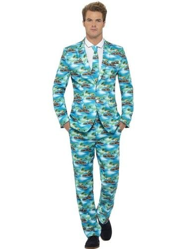 Aloha! Stand Out Men's Suit, Aloha costume, Suit costume, Hawaiian Costume. Buy Aloha suit online at best costume shop Australia.
