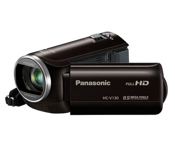PANASONIC HC-V130EB-K Full HD Camcorder - Black