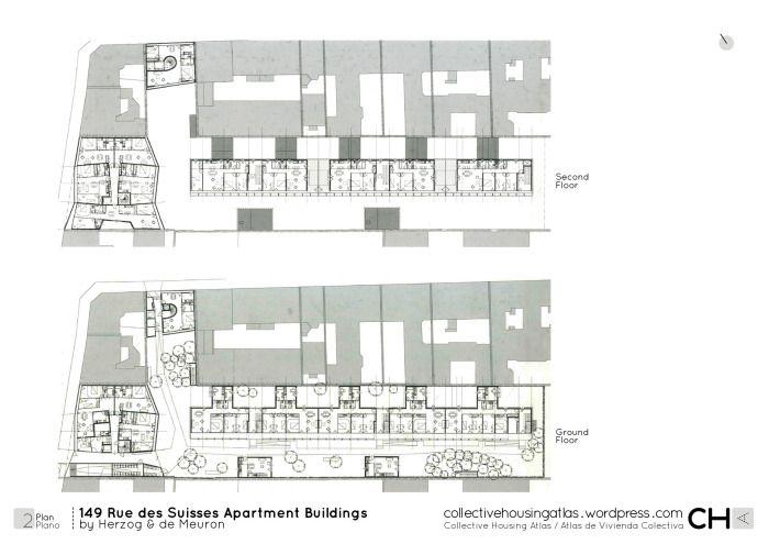 Herzog & de Meuron - Apartment Rue des Suisses - 2000 - París
