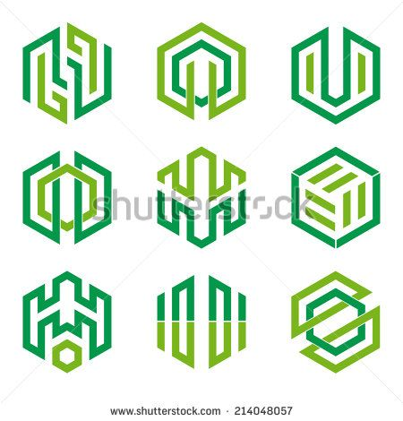Hexagon Logo Stock Photos, Images, & Pictures   Shutterstock                                                                                                                                                     More