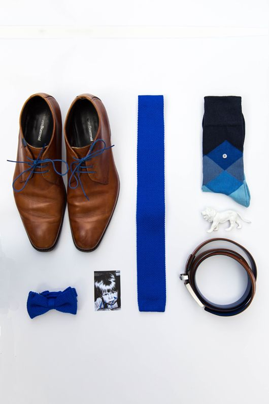 Haikje's home. A blog about decorating, design & lifestyle  #bruiloft #wedding #blue #weddingshoes #weddingsocks #menclothing #weddingtie #weddinginspiration #bruiloftinspiratie #florisvanbommel #burlington #flatlay