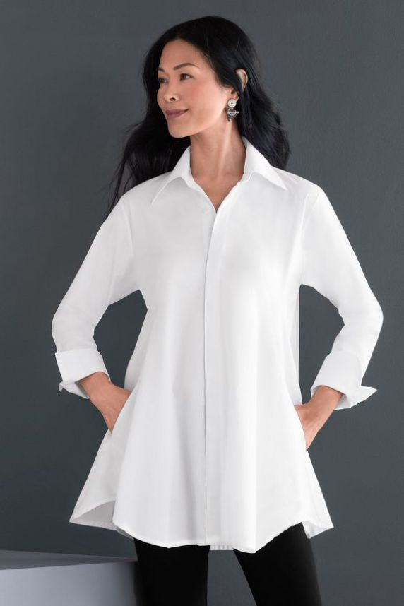 b8220801596 The Great White Shirt-Planet Artists Smock from Artful Home. The Great  White Shirt-Planet Artists Smock from Artful Home White Shirts Women