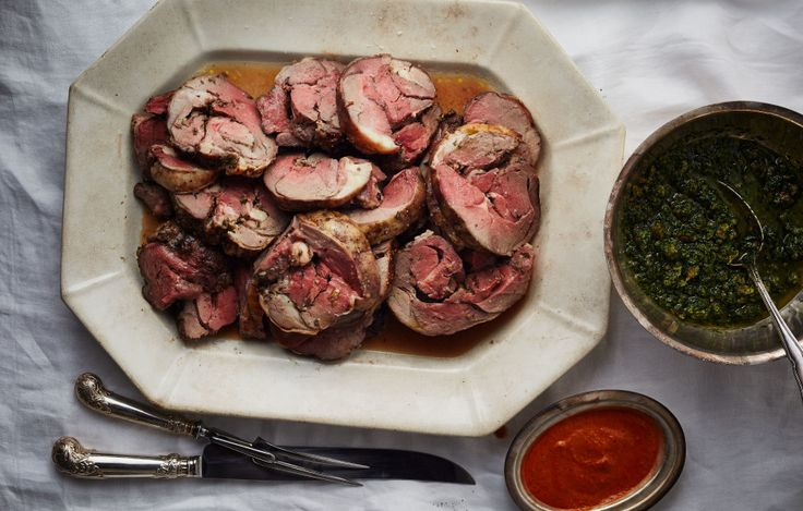 Lamb with Rosemary and Garlic | Bon Appetit. Start with 6 lb boneless ...