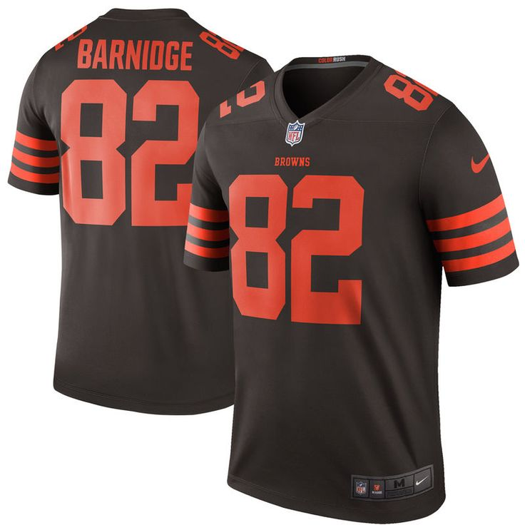 Gary Barnidge Cleveland Browns Nike Color Rush Legend Jersey - Brown