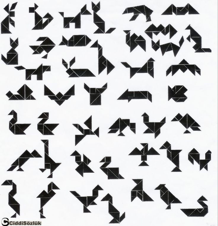 Printable Tangram Animals | Related Pictures tangram printable animal designs she faced the mirror ...