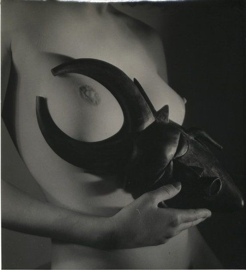 Nu africaine,1934 by Andre Steiner [few more before;]