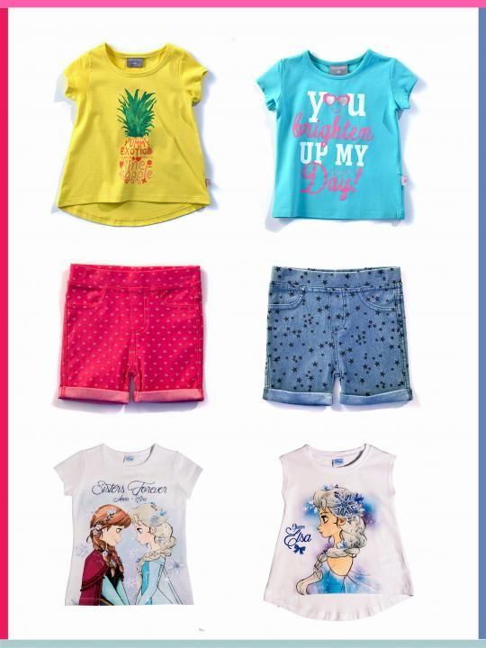 Ανοιξιάτικα και καλοκαιρινά ρούχα για κορίτσια