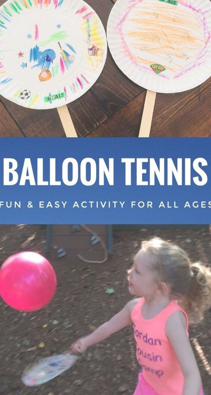 Balloon Tennis is a fun and easy activity for all …