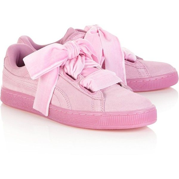 Puma Suede Heart Reset Women'S Trainers ($55) ❤ liked on