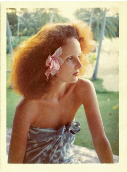 Grace Coddington, 1975    Photo: © Norman Parkinson LTD./Courtesy of Norman Parkinson Archive