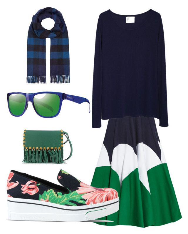 """mood today"" by leelin on Polyvore featuring Delpozo, La Garçonne Moderne, STELLA McCARTNEY, Valentino, Burberry, Smith, women's clothing, women, female and woman"
