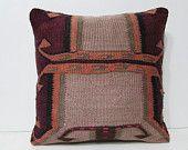 20x20 lakehouse kilim pillow chair pillow case floor pillow colourful cushion case victorian decor retro home decor turkish rug pillow 27673