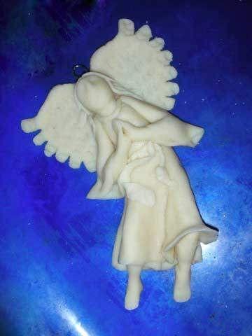 Ангел из солёного теста. Обсуждение на LiveInternet - Российский Сервис Онлайн-Дневников