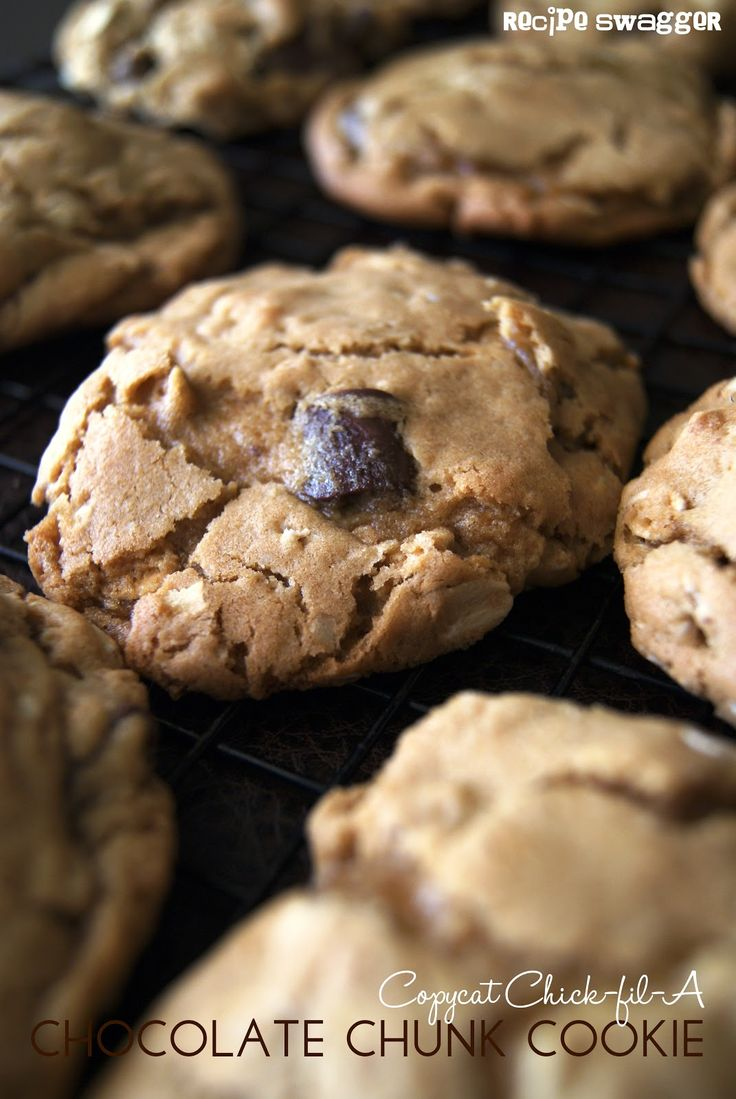 Tried it: although it was not an exact match to Chick-fil-a chocolate chunk cookies it is very similar and my ten year old said I was allowed to make these again.