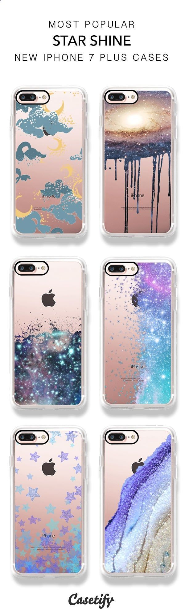 Shine like a star! Shop these best selling Star iPhone 7 and iPhone 7 Plus phone cases > www.casetify.com/...