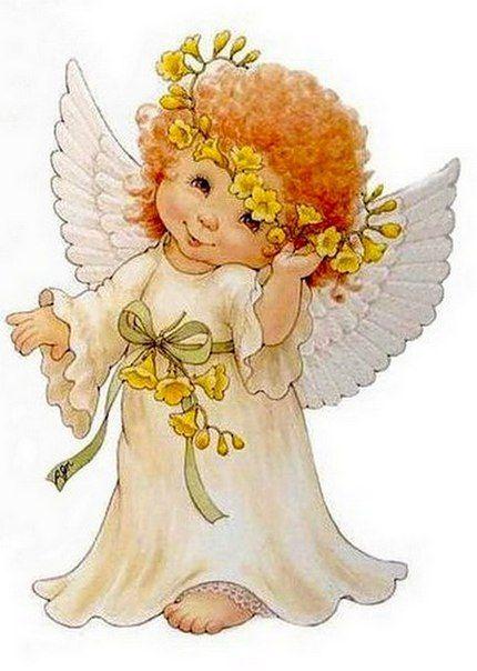 Ангелочек анимация картинка, открытки