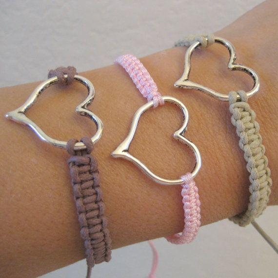 Monogrammed Square Knot Bracelet Alert