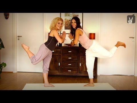 """Yoga VIP mit Judith Hildebrandt aus """"Sturm der Liebe"""" bei Happy & Fit!"""