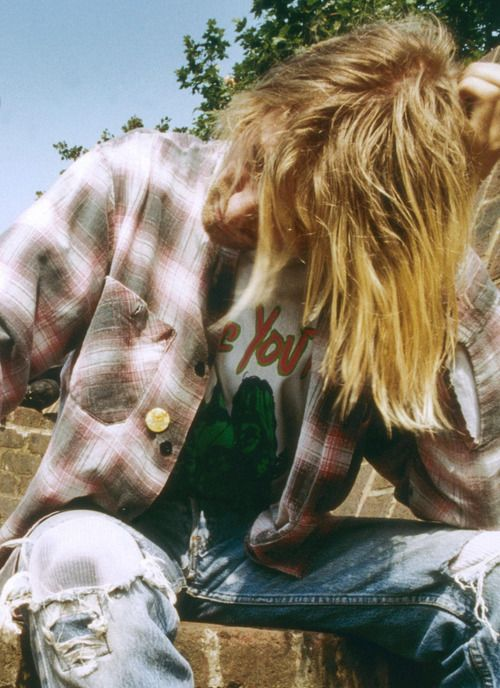 Kurt Cobain, King of Grunge.