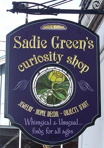Sadie 's Curiosity Shop