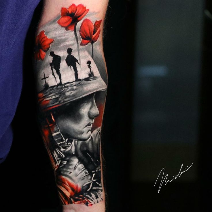 Army Tattoo by Michael Cloutier