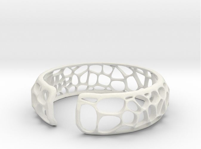 Check out Coral Cuff by ecken on Shapeways and discover more 3D printed products in Bracelets.