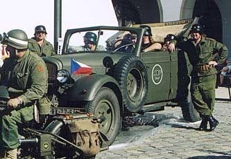 Škoda Superb 3000 - Kfz 21 (typ 952) Kommandeurwagen
