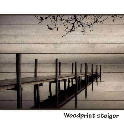 Woodprint brug   (verkrijgbaar via Claessens Styling)