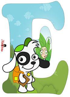 Alfabeto Gratis de Doki. | Oh my Alfabetos!