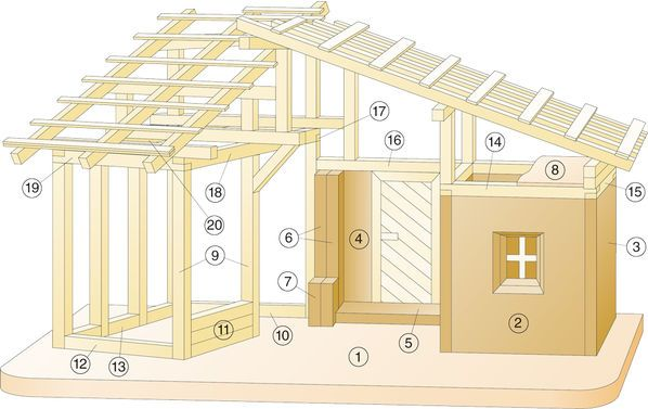 Alpen-Krippe bauen: Schritt 41 von 43