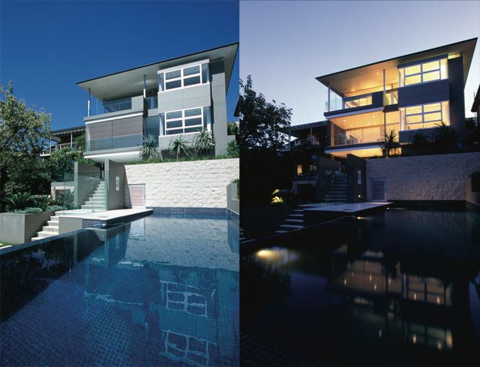 Equally stunning in the day and at night, The Stokes House, Balmoral. http://www.corben.com.au/index.cfm?id=69
