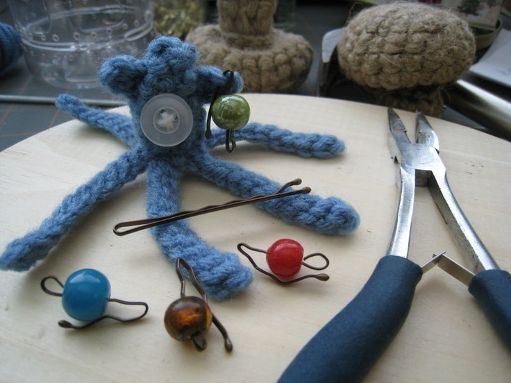 Knitting Markers Diy : Best images about diy stitch markers on pinterest