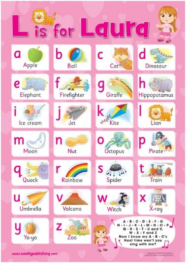 A1 poster printed on 170g paper and laminated. Excellent quality product. Ideal for bedrooms, playrooms & classrooms. – Teach your child the alphabet – Fonts for letters are identical to how children are taught to read and write in school. – Illustrations easily recognised by children.  http://www.marketdirect.ie/alphabet-pink