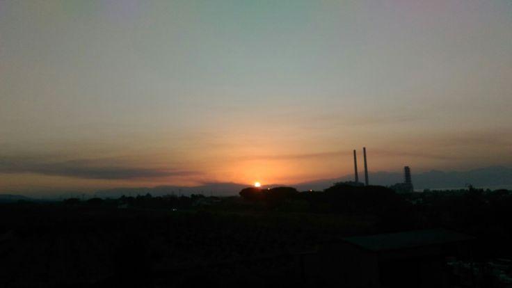 Sun is gone