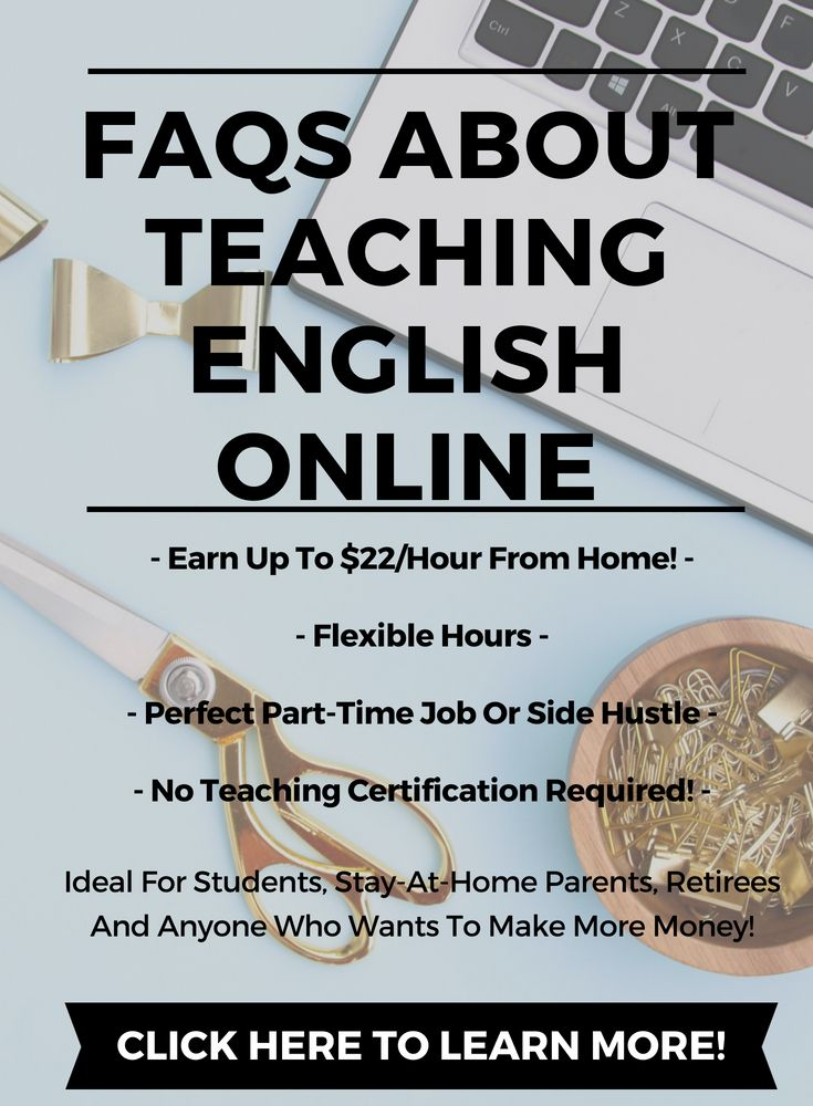 Faqs About Teaching English Online Teaching English Online
