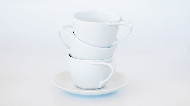 Good Morning Teacup & Saucer Kibardin