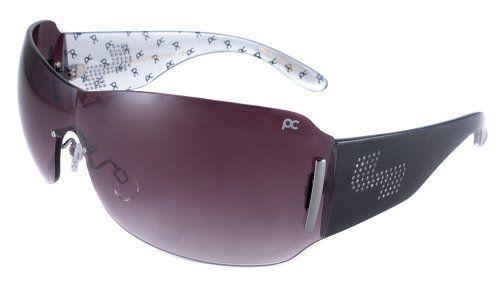 Sundog Impression-Paula Creamer Signature Style Sunglasses with Rhinestone Logo-Black Front and Custom Pc Design with Sg12 Smoke Gradient by Sun Dog, http://www.amazon.com/dp/B0024NKK2E/ref=cm_sw_r_pi_dp_p4G2pb1ADWYPN