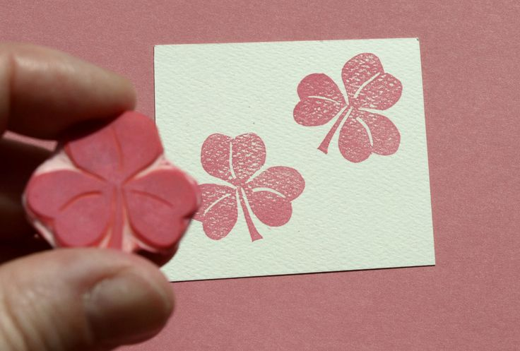 Clover Flower Stamp