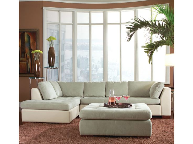Sofa BedSleeper Sofa American Leather Living Room Ottoman ARI OTO Woodley us Furniture Colorado Springs