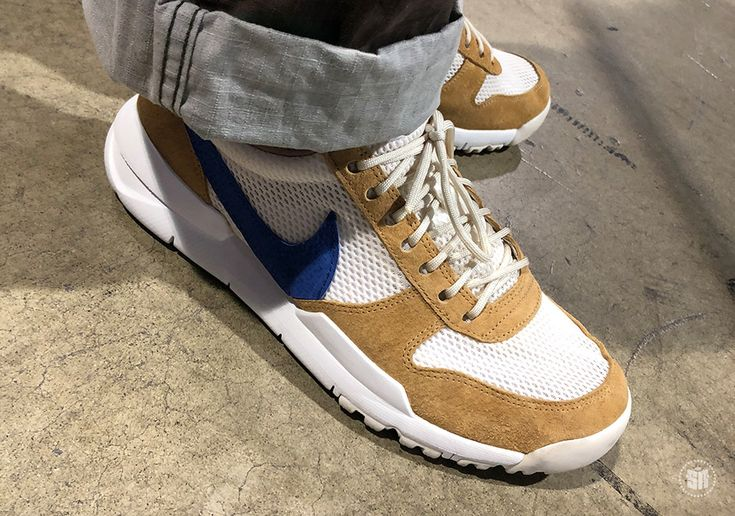 #sneakers #news  Tom Sach's Nike Mars Yard 2.0 With Navy Swoosh Spotted At Complex Con