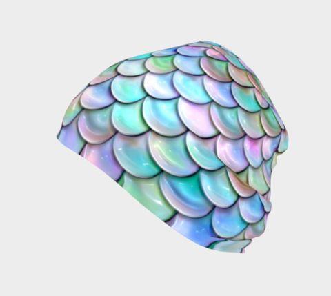 Pastel Rainbow Mermaid Toque/Beanie