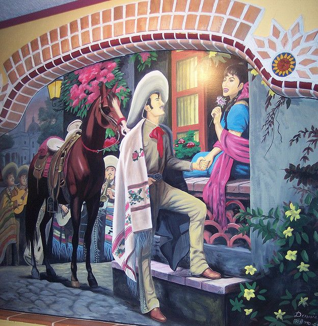 Mexican Tile Murals | Mexican Muralism Pictures