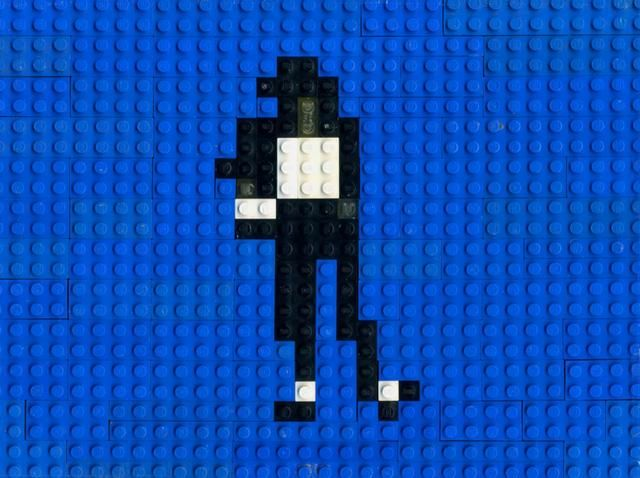 AWESOME!!! :D  Lego Dance by Annette Jung by Talking Animals. Michael is doing the Lego dance. Lego animation by Annette Jung.