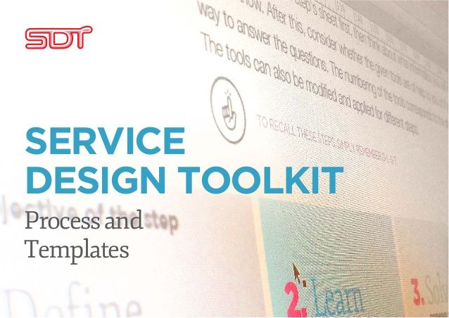 Thanx to @drodesign for posting: JAMK University of Applied Sciences Service design toolkit english by Fred Zimny's Serve4impact via slideshare