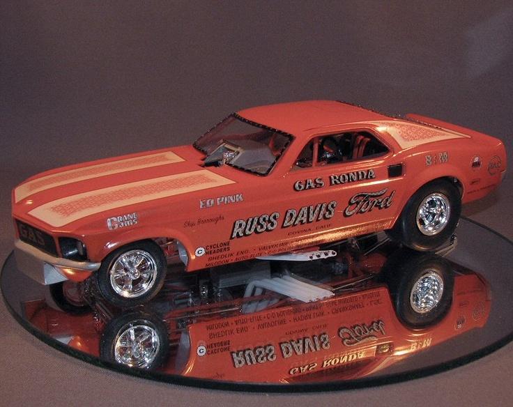 Gas Ronda Mustang F/C. (model cars, plastic models)