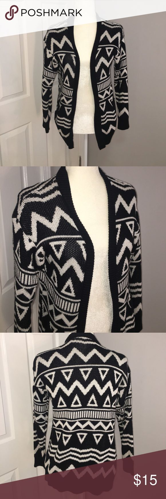 Tribal print cardigan Tribal print cardigan H&M Sweaters Cardigans