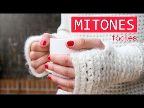 Cómo hacer unos mitones de ganchillo, Crochet mittens, My Crafts and DIY Projects