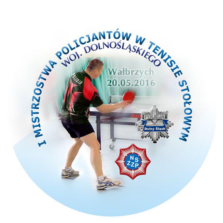 I Mistrzostwa Policjantów w Tenisie Stołowym | AQUA ZDRÓJ Wałbrzych