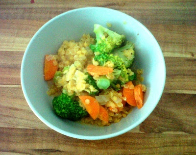 red lentils with vegetables | Food | Pinterest