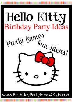 Hello Kitty Birthday Party Theme Ideas